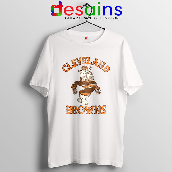 Retro Symbol Cleveland Browns Tshirt NFL