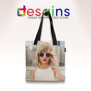 Taylor Swift 1989 Cover AOP Tote Bag