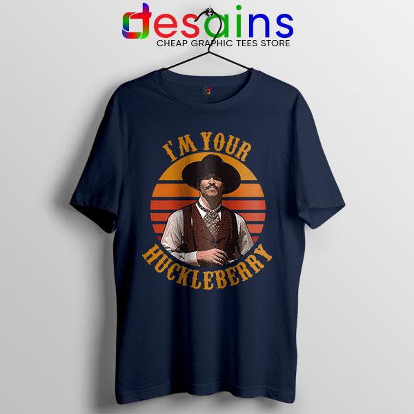 Vintage Your Huckleberry Navy Tshirt Tombstone