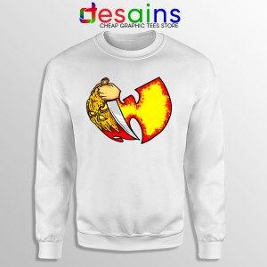 Wu Tang Clan Symbol Halloween White Sweatshirt Horror Nights