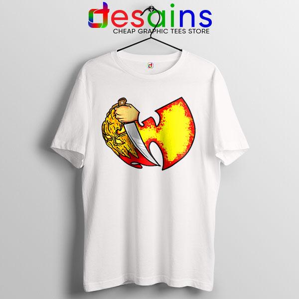 Wu Tang Clan Symbol Halloween White Tshirt Horror Nights