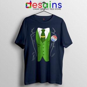 Best Loki President Suit Navy Tshirt God of Mischief