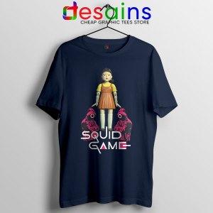 Best Squid Game Design Navy Tshirt Netflix Series