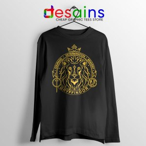 Houses of Hogwarts Lion Long Sleeve Tee Gryffindor