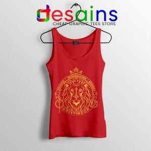 Houses of Hogwarts Lion Red Tank Top Gryffindor