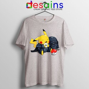 Pikachu Costume Darth Vader Tshirt Star Wars