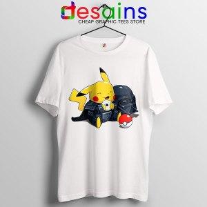 Pikachu Costume Darth Vader White Tshirt Star Wars