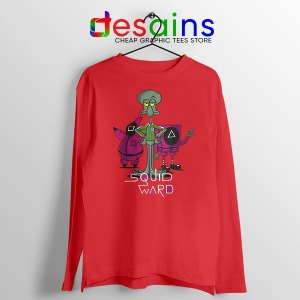 Squidward Squid Game Long Sleeve Tee Funny