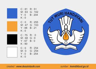 Peraturan warna logo tutwuri