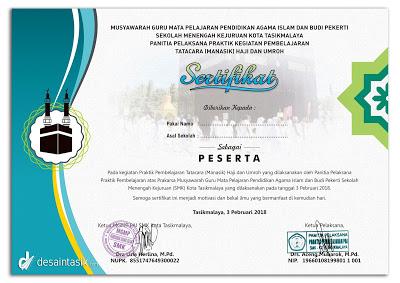 sertifikat-manasik-haji-SMK-tasik