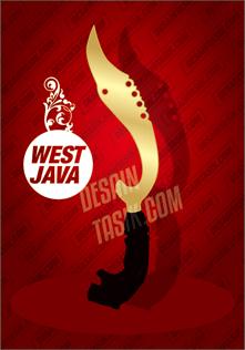 Sketsa Kujang Jawa Barat Vector JPG HD Free Download