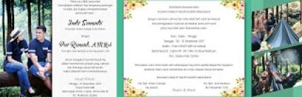 download undangan pernikahan vektor