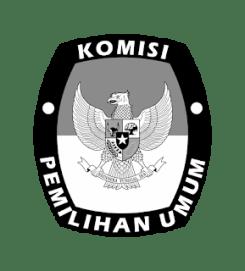 Logo KPU hitam putih