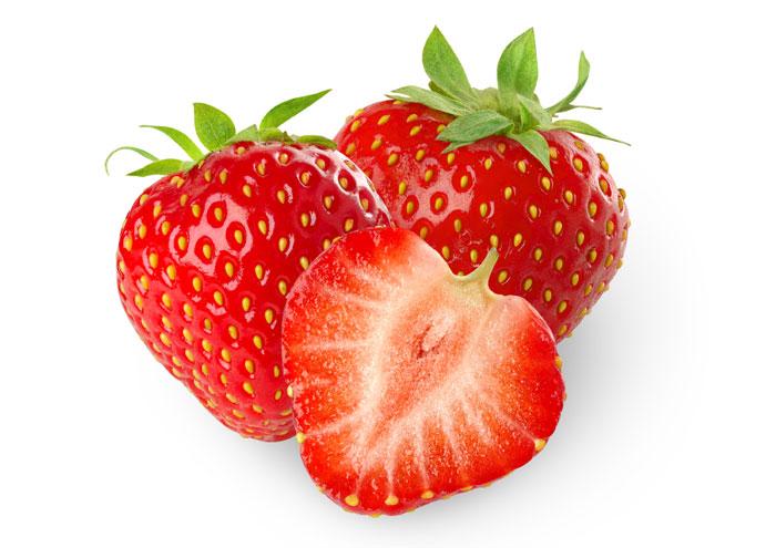 buah strawberry