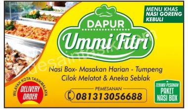stiker nsai box catering