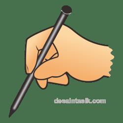 Gambar Paku PNG Vector Untuk Coblos Pemilu
