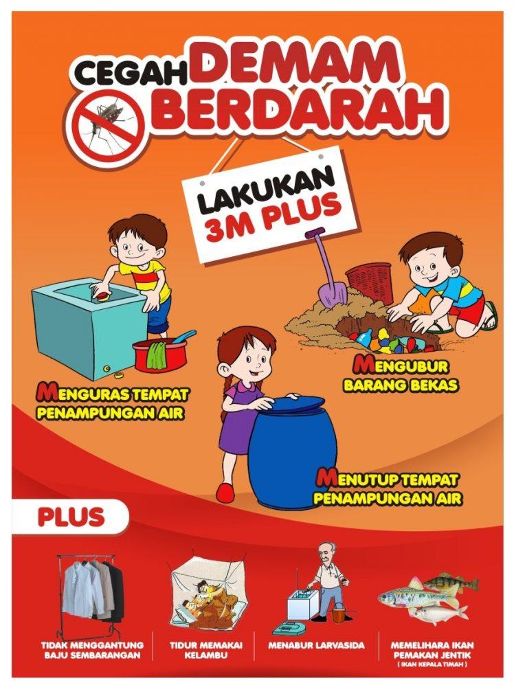Keren Poster Demam Berdarah Kartun - Koleksi Poster