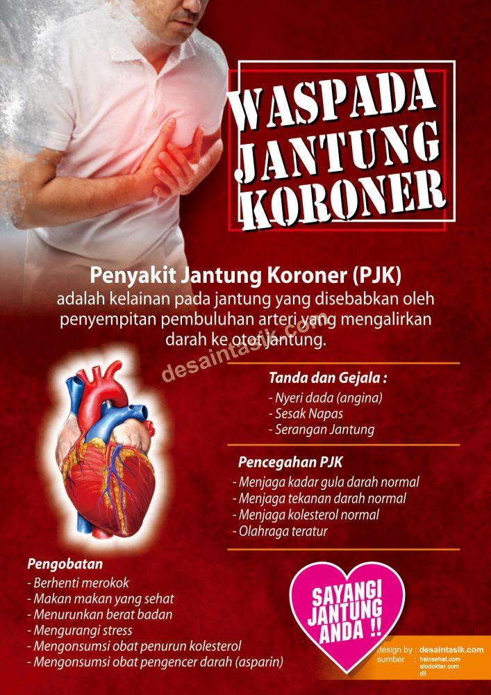Bisnis Digital Indonesia Poster Tentang Kesehatan Jantung