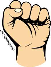 Gambar Kepal Tangan Kemerdekaan PNG Vector