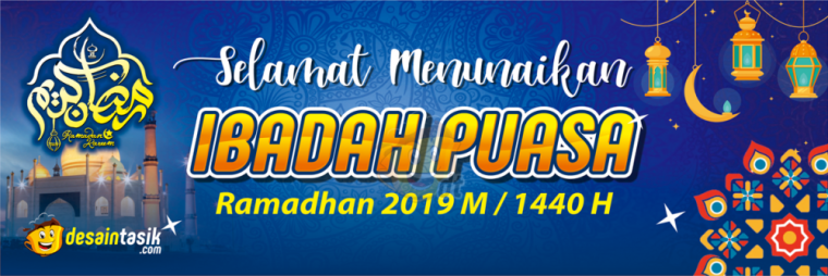 Download Spanduk Ramadhan 2019 Gratis Vector Cdr ...