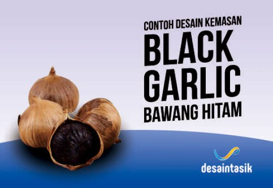 contoh-desain-brosur-dan-stiker-black-garlic-desaintasik