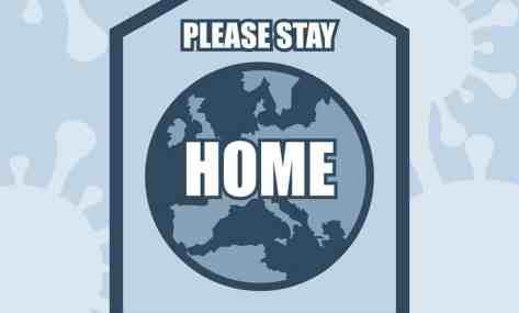 Stay at home, diruma saja