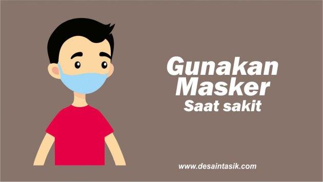 Gambar orang pakai masker
