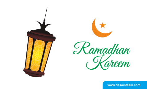 desaintasik-download lampu ramadhan kareem vector