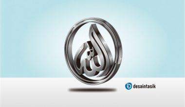 kaligrafi-lafad-allah-3D-desaintasik
