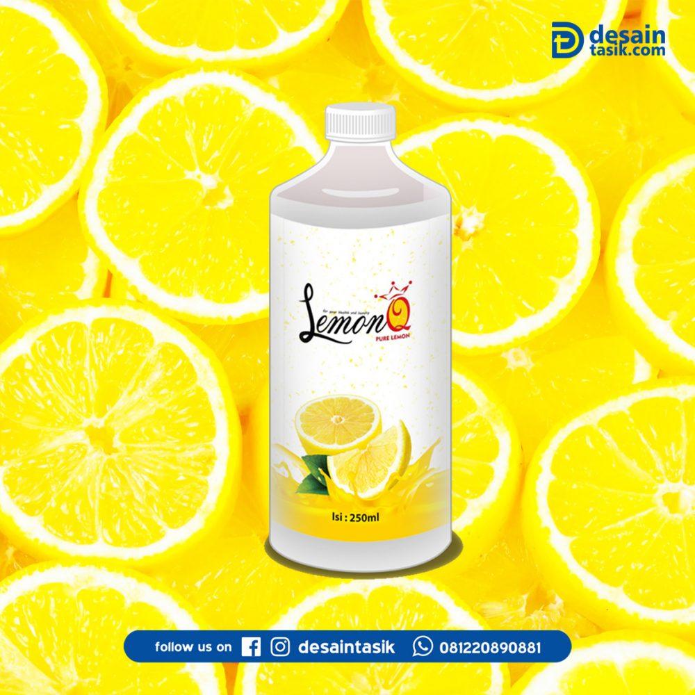stiker botol minuman lemon_desantasik
