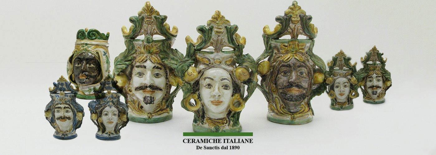 Ceramiche Italiane Enrico de Sacntis 1890