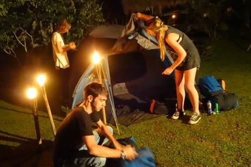 Camping di Bali Desa Penglipuran