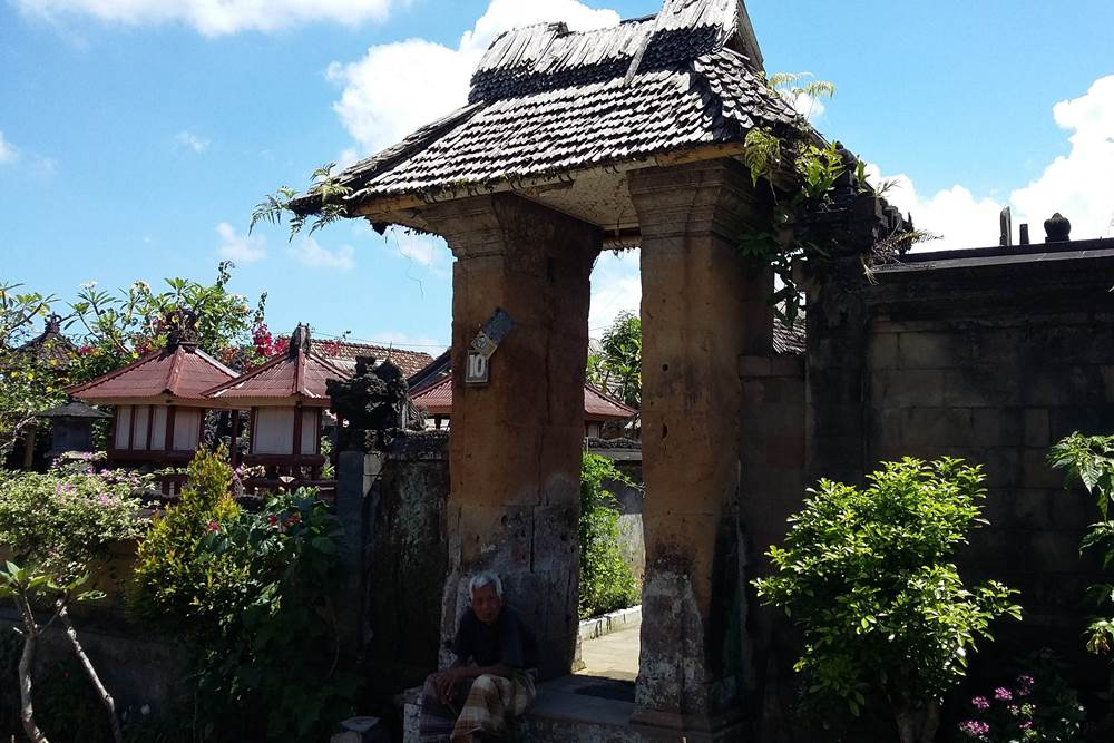 Harga Tiket Masuk Desa Penglipuran Bali - Pintu Gerbang