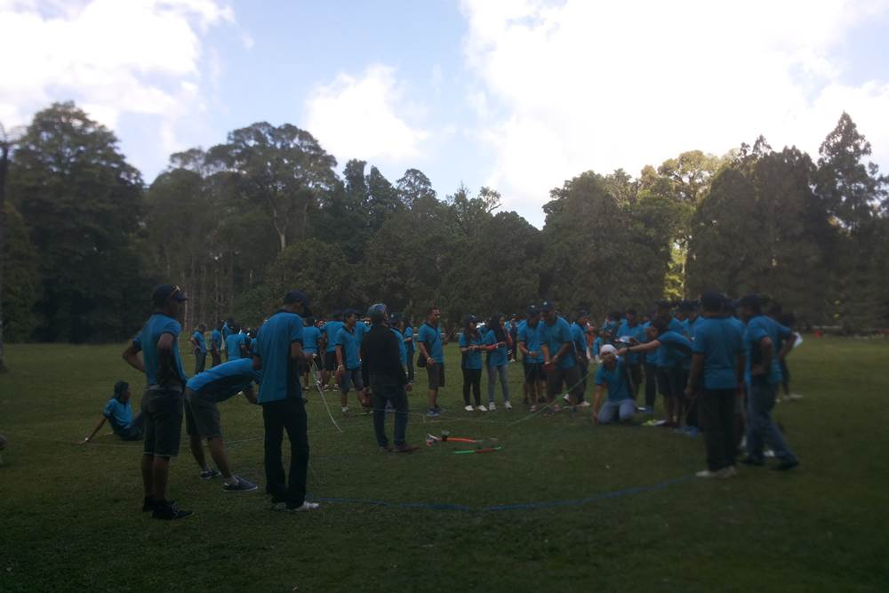 Fun Team Building di Desa Penglipuran Bali - Game