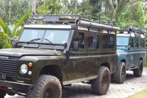 Land Rover Amazing Race Desa Penglipuran Bali - Coklat
