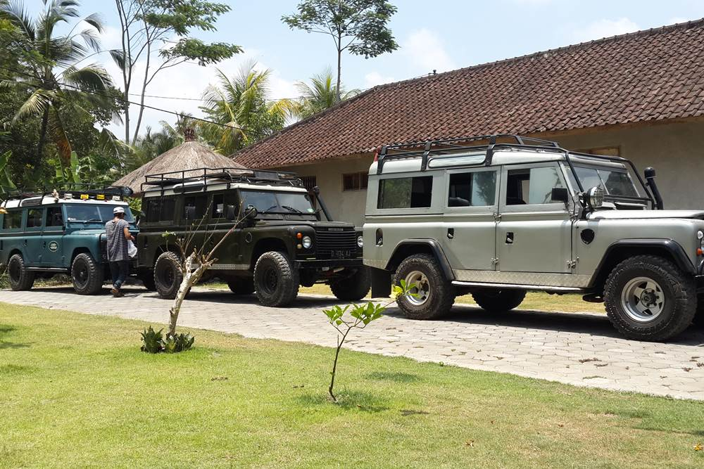 Land Rover Outbound Amazing Race Desa Penglipuran Bali
