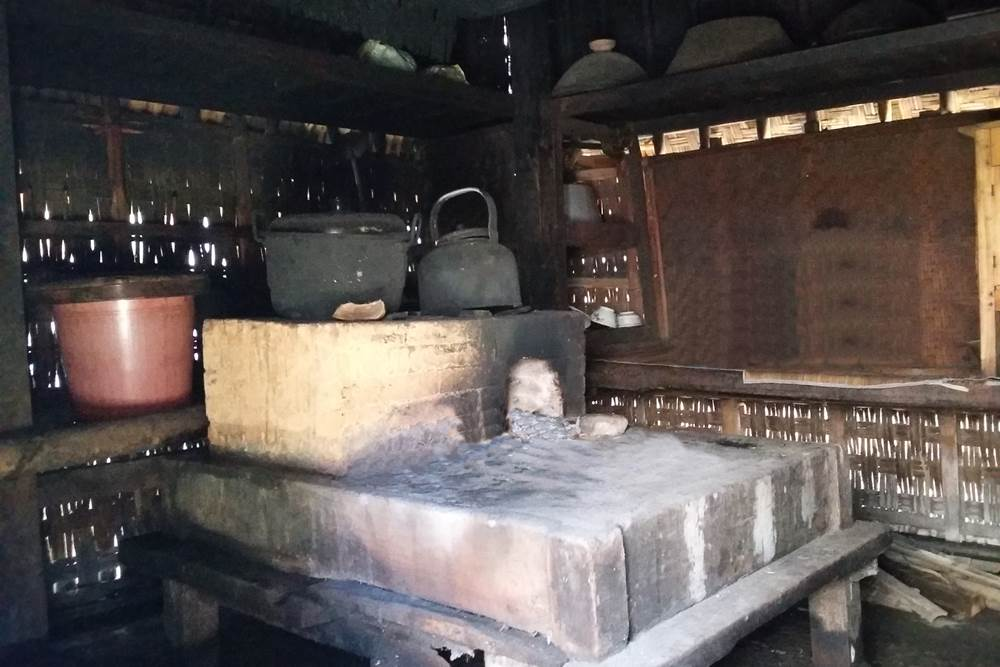 Team Building di Desa Penglipuran Bali - Dapur Traditional