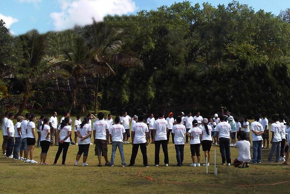 Team Building di Desa Penglipuran Bali Ice Breaking