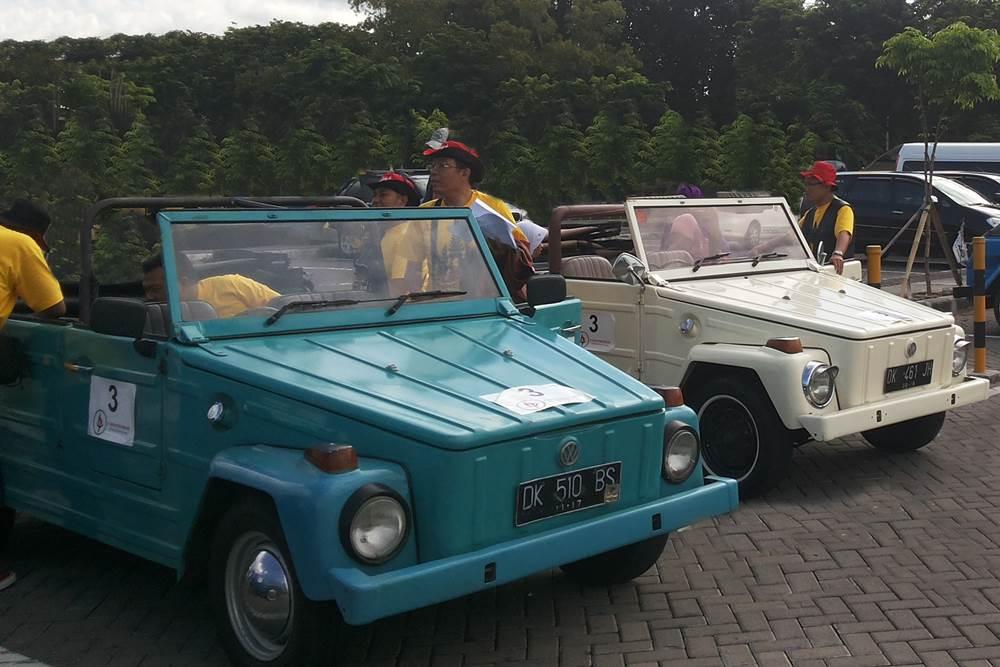 VW Safari Amazing Race Desa Penglipuran Bali - VW Biru