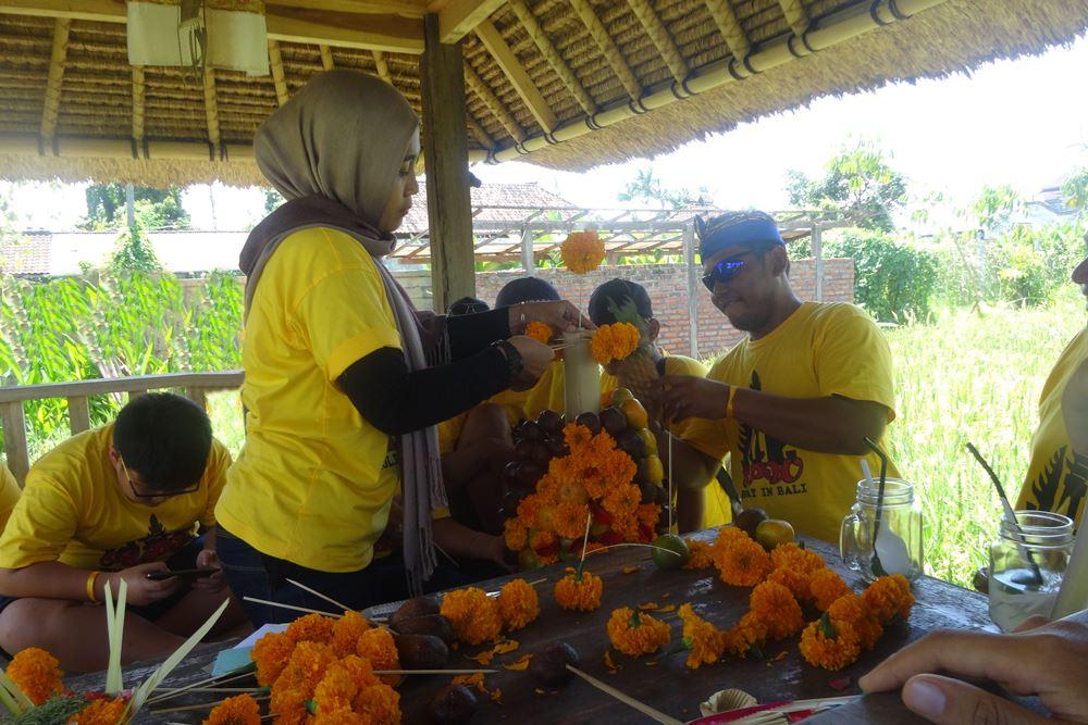 Tema Acara Outbound di Desa Penglipuran Bali