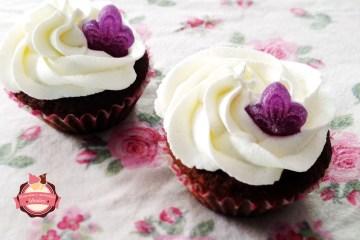 cupcakes violeta