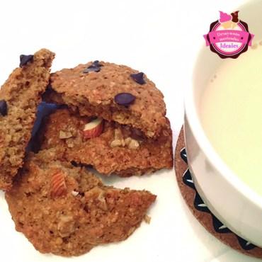 galletas de avena con leche