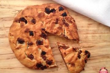 super cookie de chocolate y dulce de leche