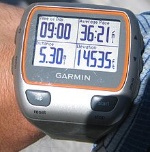 montre course gps