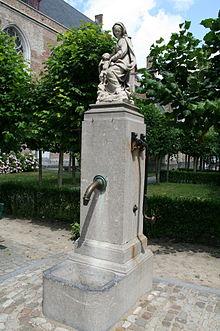 fontaine murale
