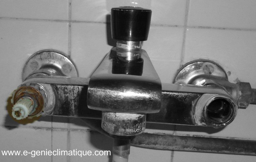 robinet douche