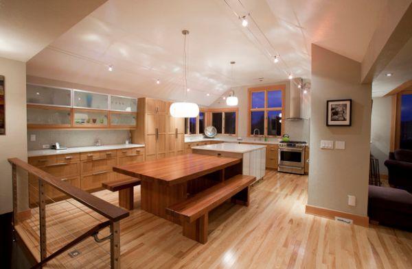 eclairage plafond cuisine led