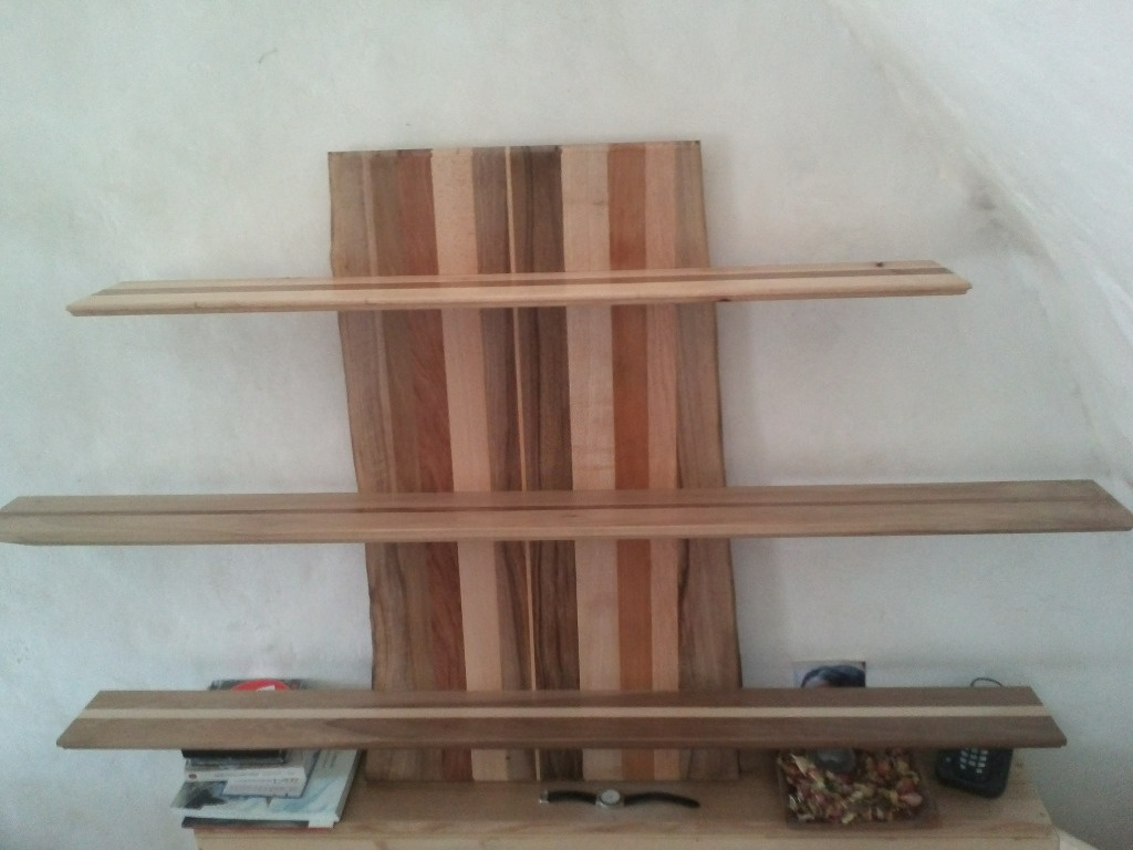 etageres en bois