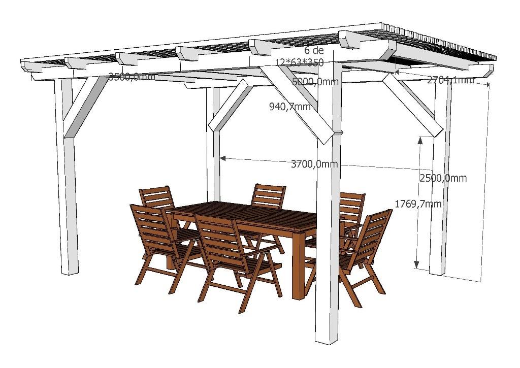 faire une pergola en bois pour terrasse