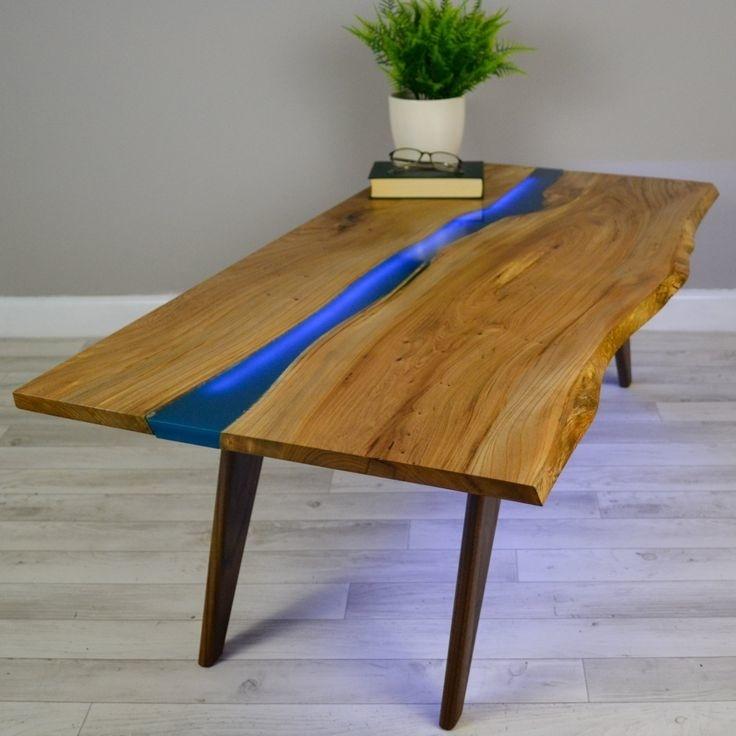 résine pour plan de travail en bois